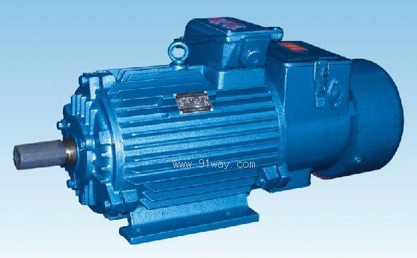 YZPSEJ系列变频调速制动电机 YZPSEJ系列冶金及起重用变频调速制动三相异步电动是由变频电动机与圆盘式直流电磁失电制动器两部分组成。 YZPSEJ制动电机工作原理:当电动机接通电源时同时接通制动器直流电源,这时衔铁立即被吸,克服弹簧压力,制动刹车板与制动盘脱开,电动机旋转。当切断电动机电源时制动器同时断电,制动器失去电梯吸力,弹簧立即推动衔铁,使制动盘被压在制动刹车板和衔铁间,产生制动力矩,使电动机停止转动。 YZPSEJ电机是以变频调速装置为供电电源的调速三相异步电动机带制动器,与变频装置组成的系