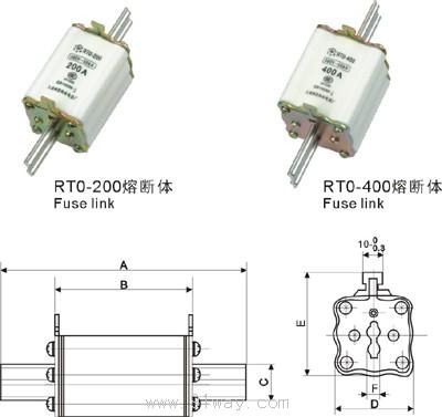 接线图----通用结构 低压空气式隔离器,开关,隔离开关及熔断器组合电.
