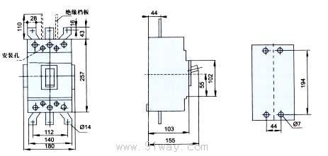 断路器安装尺寸5
