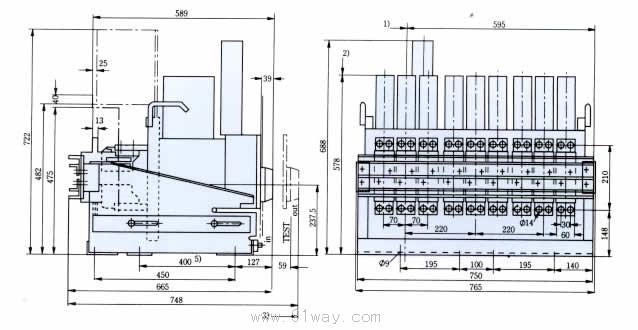 me系列万能式断路器主要技术参数