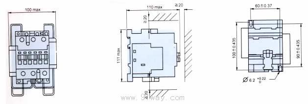 用途 B系列交流接触器用于AC50或60Hz电路中,供远距离接通与分断电力线路或频繁地控制交流电动机用。与T纱列热过载继电器配用或组成MSB电磁起动器,可以保护电动机的过载和断相。 B25C,B30C,B50C,B63C,B75C切换电容器接触器主要适用于交流50Hz,额定电压380V的补偿回路中接通和分断电力电容器,以调整用电系统的功率因素,接触器具有抑制涌流能力,使接通时的涌流蜂值不大于额定工作电流的20,适用工作条件与B系列接触器相同。 B25C-B75C切换电容器接触器,由于就在B系列交流接触器产