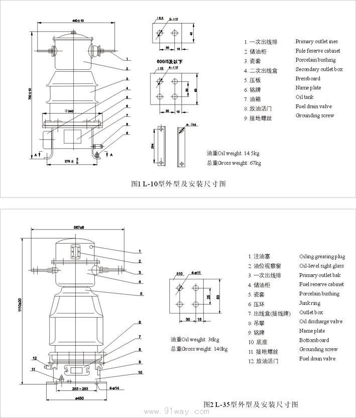 首页 高压电器 高压互感器 10kv电流互感器 → l-10系列电流互感器