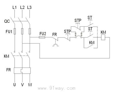 qc5-20防爆电磁起动器(Ⅱb)接线图
