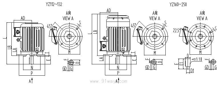 yzrsw280m2-4/8电机接线图