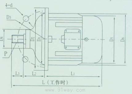 zdd型锥形转子制动双速三相异步电动机