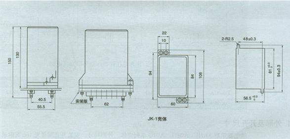 1、应用范围  DX-18、19型闪光信号继电器(以下简称继电器)用于交直流信号回路。当工作线圈电源接通后,触点可周期性的接通和断开,使受控的灯光信号发出闪光。DX-19继电器可接通30路LED型节能灯信号回路。 2.主要技术数据 额定值:DC 220V、110V、48V;AC 220V、50Hz; 动作值:不大于80%额定电压。 闪光频率:每分钟40-80次。 功率消耗:DX-18直流不大于6W,交流不大于12VA;DX-19直流不大于6W,交流不大于6VA; 介质强度:产品各导电端子连在一起,对外露的