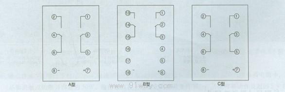 jcdy-2系列直流电压继电器