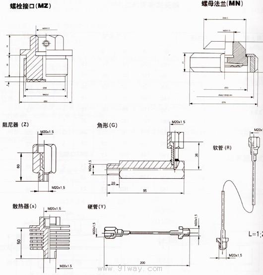 电接点压力表接线图工作原理