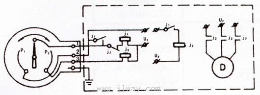 yk-100压力表电路图