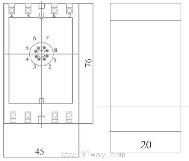 dxj型断相与相序保护继电器