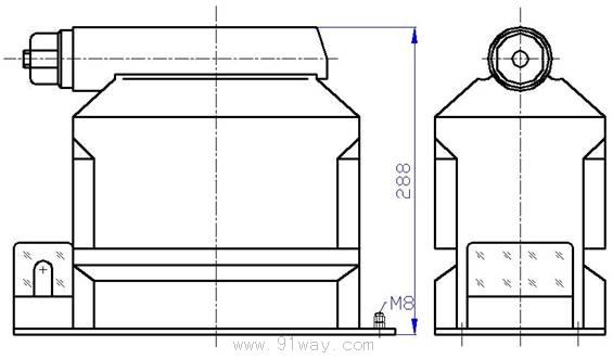 jdzx10-10r(rel10-r)型电压互感器安装尺寸2
