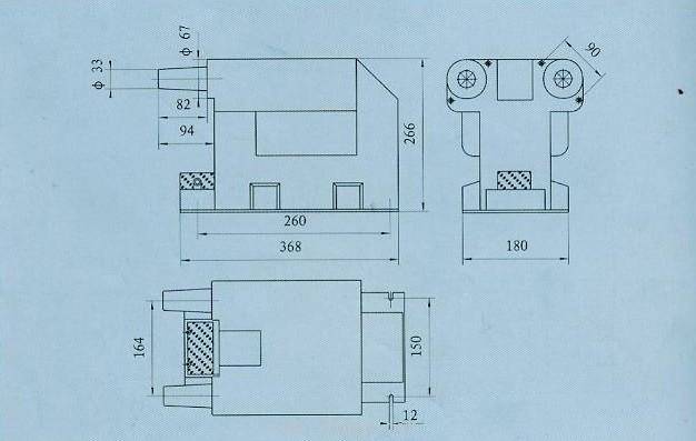 jdz16-10r系列电压互感器