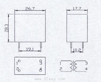pt01-1系列微型电压互感器