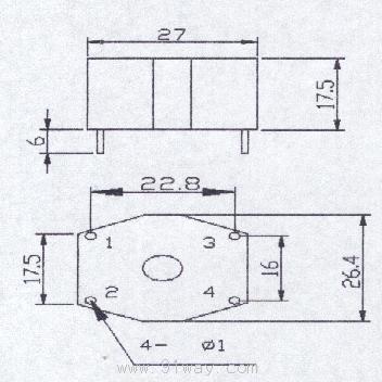 ct08型微型电流互感器
