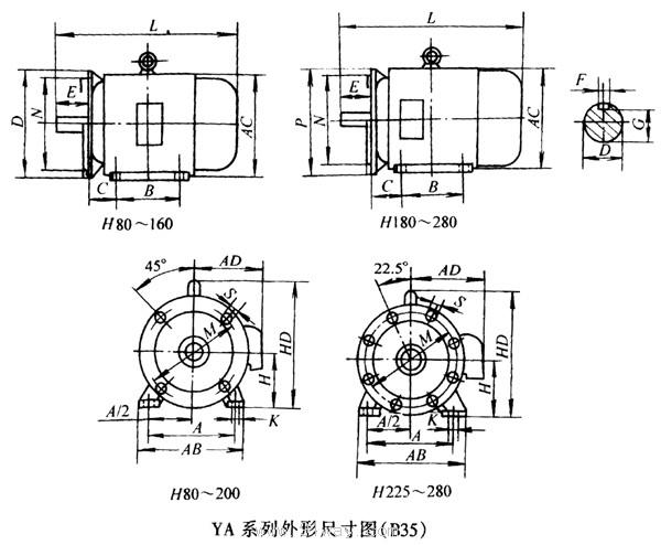 三相电动机接线盒接线图