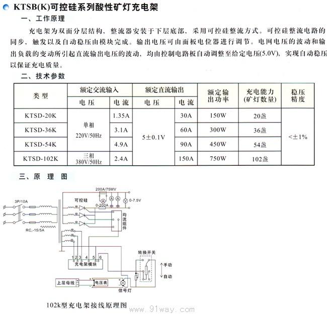 ktsb(k)可按硅系列酸性矿灯充电架