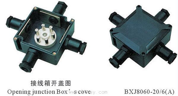 bxj8060系列防爆防腐接线箱(e)