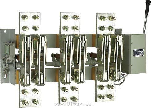 低压空气式隔离器,开关,隔离开关及熔断器组合电.