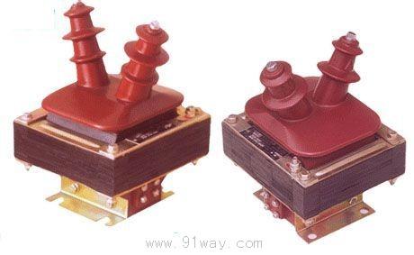 三相五柱式电压互感器yn,yn,开口△接线图及变比说.