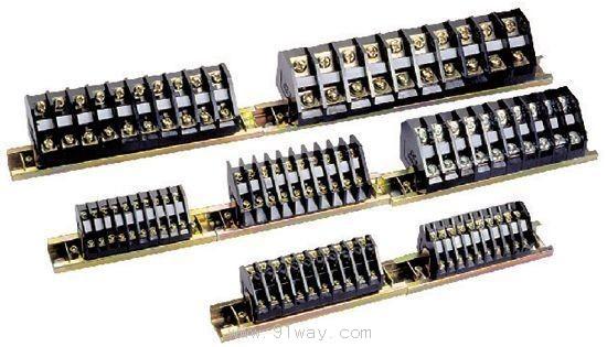 tz1系列接线端子适用于额定电压至500v,额定电流至100a的电力传动