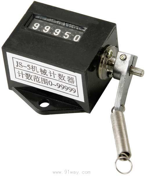 js5型拉动式机械计数器