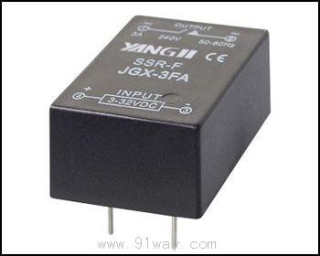 yjgx-3fa型单相电路板式交流固态继电器