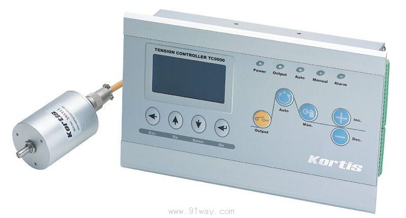 TC9000-N2是一种高精度的全数字式张力控制器。 它具有双路输出,自动换卷,远程张力输出,远程张力显示等功能.广泛应用于多卷材的场合中它可以用于开卷、收卷及送料等各个环节,能够提供高精度、可重复的张力控制。其控制方式为恒张力控制,容易实现高速换卷,在加减速时有很好的缓冲吸收作用。特别适用于高速印刷机、高速分切机、高速复合机、绕线机等。