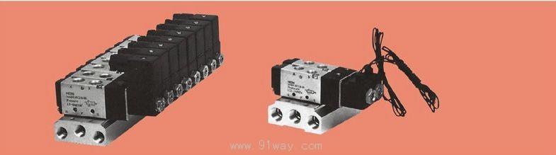 4v系列电磁气动阀底座